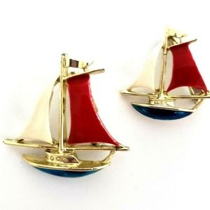 Gerrys Sailboat Yacht Schooner Scatter Pin Set